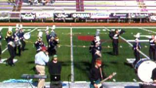 Collingswood Marching Band 10-25-09 Part 1 of 3