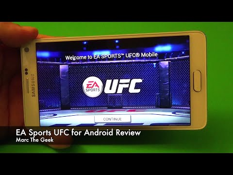 EA Sports UFC For Android Devices Review
