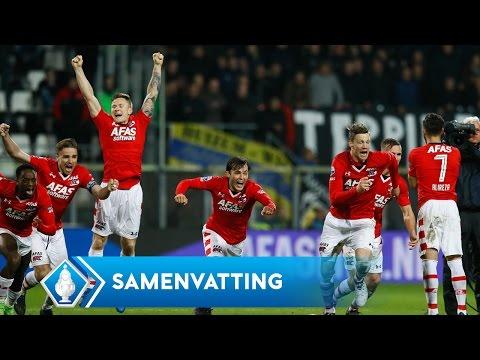 Highlights KNVB Beker: AZ - Cambuur (2/3/2017)
