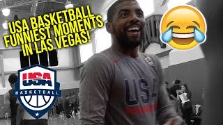 USA Basketball Funniest Moments at Las Vegas Training Camp | UNCENSORED