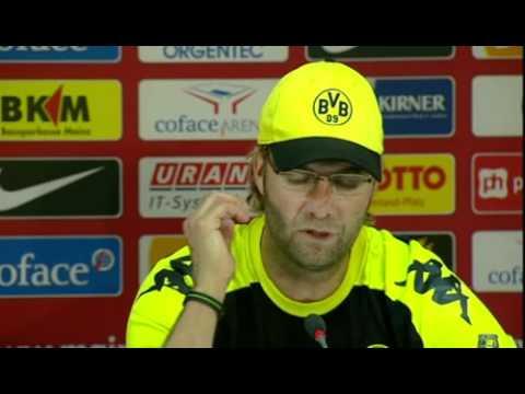 BVB Pressekonferenz vom 24. September 2011 nach dem Spiel FSV Mainz 05 gegen Borussia Dortmund