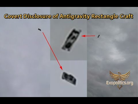 Covert Disclosure of Rectangle Antigravity Craft