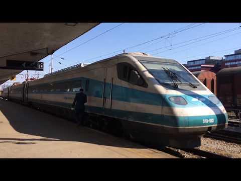 Trip report Ljubljana-Maribor InterCity Slovenia first class.