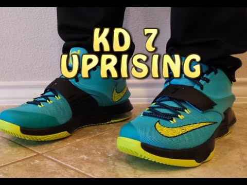 787d2c688a67 KD VII 7 Uprising Review with ON FEET - YouTube