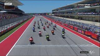 Le départ du Grand Prix !