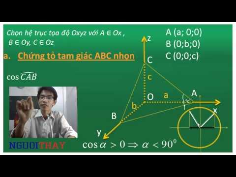 phương pháp tọa độ hóa giải hình học không gian (PHẦN 1)