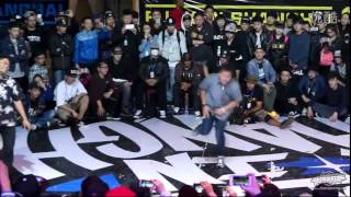 BBOY ISSEI VS BBOY JOSH | BBOY IN SHANGHAI 2014 FINAL BATTLE