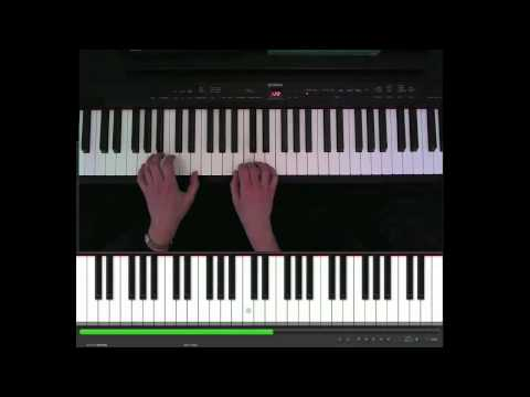 Max Richter, Europe, After The Rain, piano part