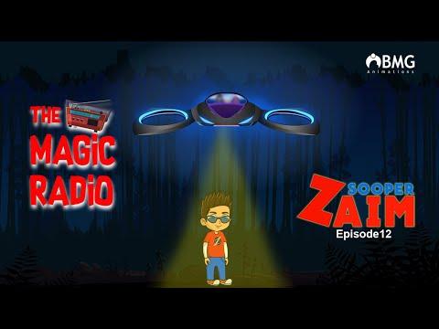 Sooper Zaim   Episode 12   The Magic Radio   Malayalam Animation Series   BMG