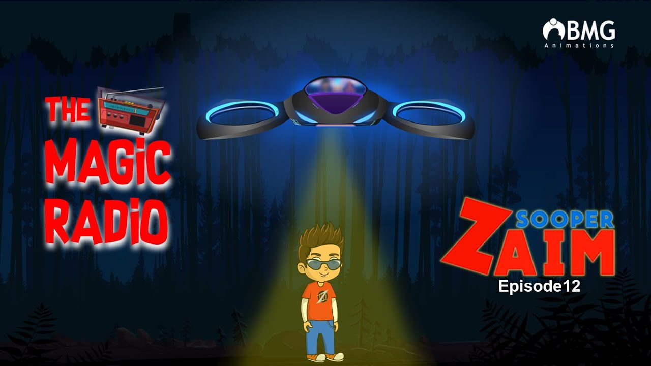 Download Sooper Zaim | Episode 12 | The Magic Radio | Malayalam Animation Series | BMG