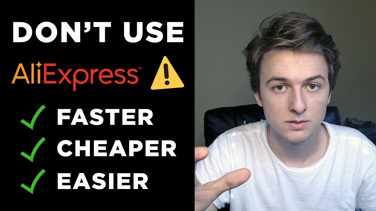 Best Alternatives to AliExpress | Dropshipping with an Agent