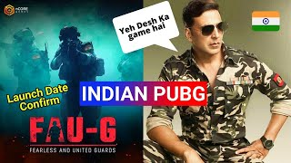 FAUG Akshay Kumar Launch New Indian Pubg Game | Faug Launch Date | Akshay Kumar new game | Faug Game