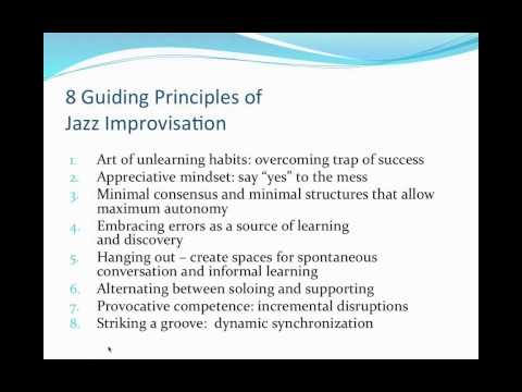 A Dialogue with Frank Barrett. Yes to the Mess: Surprising Leadership Lessons from Jazz