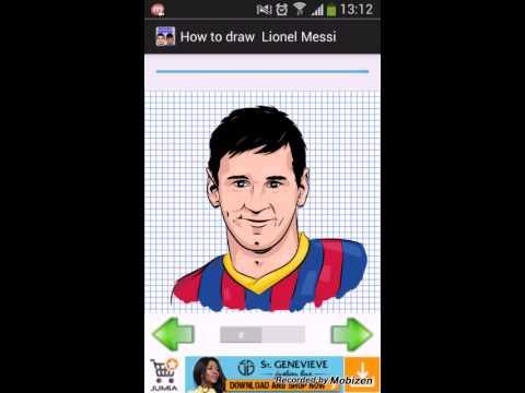 Comment dessiner les meilleures joueurs de foot youtube - Comment dessiner un but de foot ...