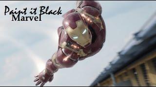 Скачать Marvel Paint It Black
