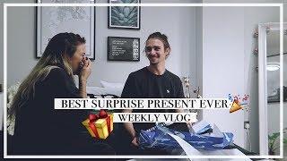 THE BEST SURPRISE PRESENT EVER: Weekly Vlog | Copper Garden