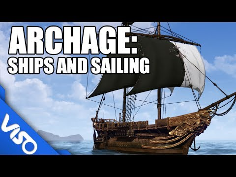 ArcheAge : Ship's and Sailing