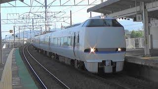 【高速通過】JR湖西線 新旭駅を特急サンダーバード通過