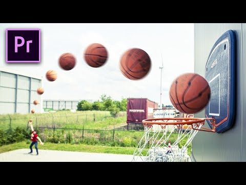 IMPOSSIBLE TRICK SHOTS in Premiere Pro Dude Perfect