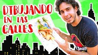 ENAMORANDO LA COCINERA | DIBUJANDO EN LAS CALLES DE PUNTA CANA | HaroldArtist