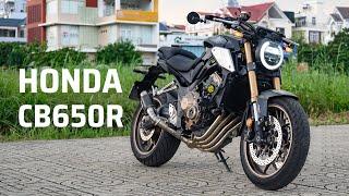 Trên tay Honda CB650R