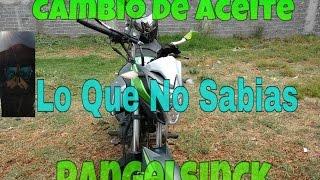 Cambio de aceite de moto | Rangelsinck