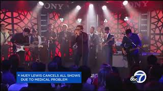 Huey Lewis and The News has canceled its 2018 tour, including at th...