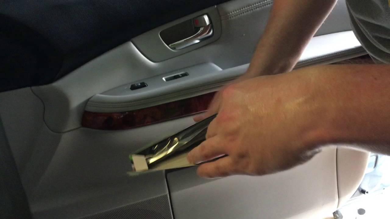 2007 Lexus RX350 HOW TO FIX BAD Heater Blend Door Actuator