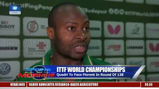 ITTF: Quadri, Olajide Blame Doubles Defeat On 'Lack Of Chemistry' |Sports This Morning|