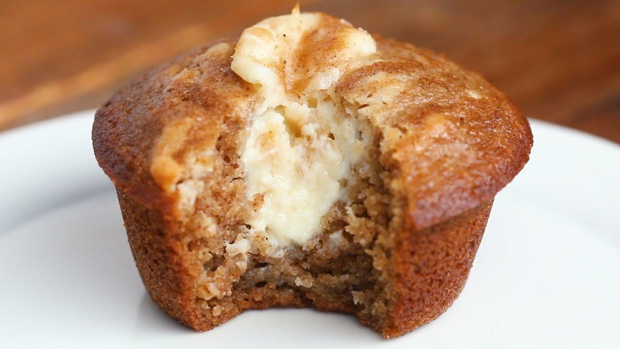 Chai-Spiced Cheesecake Muffins
