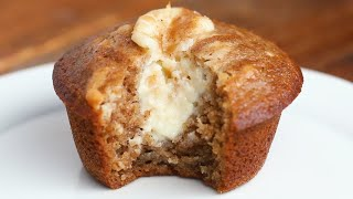 Chai-Spiced Cheesecake Muffins