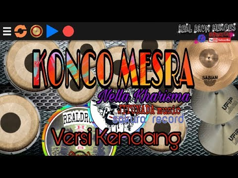 KONCO MESRA - Nella kharisma(jitunada live show) Versi Kendang