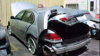 BMW SERIES 7 CRASHES COMPILATION (PICTURES) ...