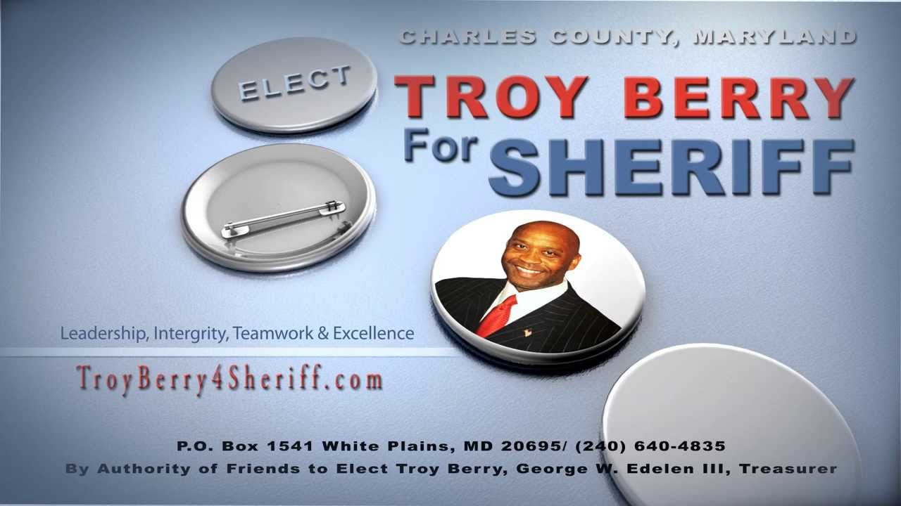 Troy Berry 4 Sheriff