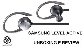 SAMSUNG LEVEL ACTIVE - UNBOXING E REVIEW [PT-BR]