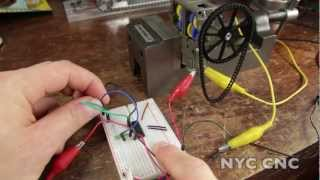 6 Ways to use DC Gearmotors! Including with Arduino & Raspberry Pi!  How To Tutorial from NYC CNC