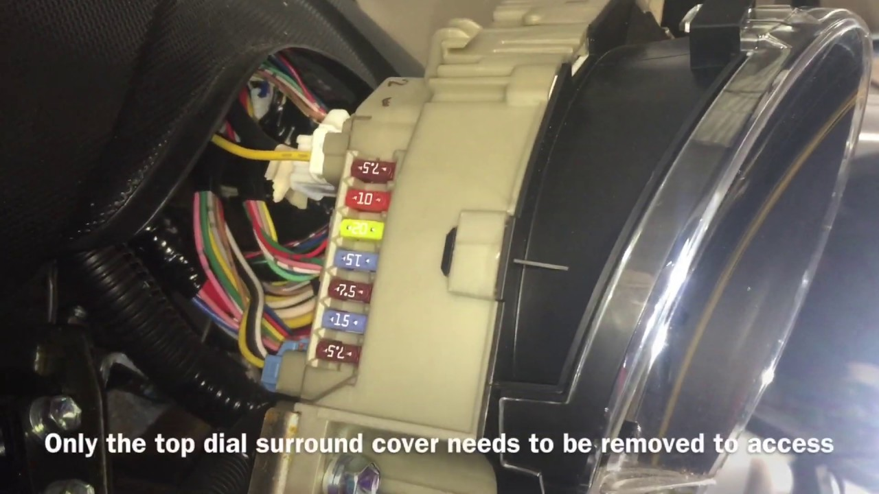 Peugeot 107 Fuse Box Location Fuses Youtube
