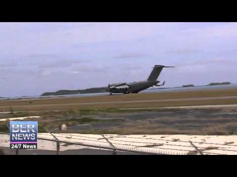 Military Aircraft Emergency Landing, May 11 2014