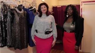 Can Plus Size Women Wear Pencil Skirts? : Plus Size Fashion Tips