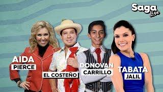 Tabata Jalil, Aida Pierce, Donovan Carrillo y El Costeño en #SagaLive con Adela Micha thumbnail
