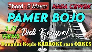 Download lagu PAMER BOJO - Didi Kempot Versi Dangdut Koplo KARAOKE rasa ORKES Yamaha PSR S970