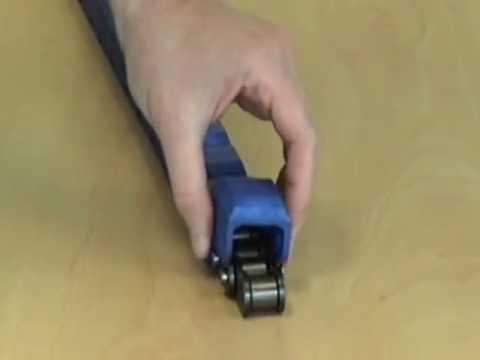 The easy way to replace a block in a Renold Klik-Top chain