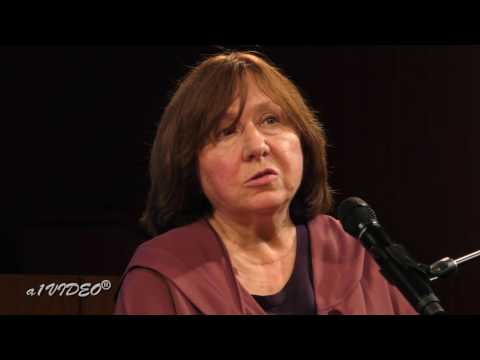 Meeting with S. Alexievich, the 2015 winner of the Nobel Prize in Literature