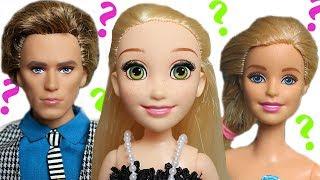 ПОЧЕМУ БОЛЬШАЯ ГОЛОВА? куклы Мама Барби