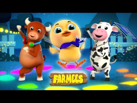 kaboochi-|-dance-songs-for-children-|-cartoons-for-babies-|-farmees