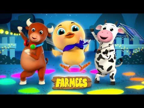 Kaboochi | Dance Songs For Children | Cartoons For Babies | Farmees