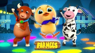 Kaboochi | Dance Songs For Children | Cartoons For Babies | Farmees