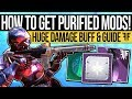 Destiny 2 | REVERIE DAWN MODS & DAMAGE BUFF! Blessing Mods, Oracle Offerings & Why You NEED Them!