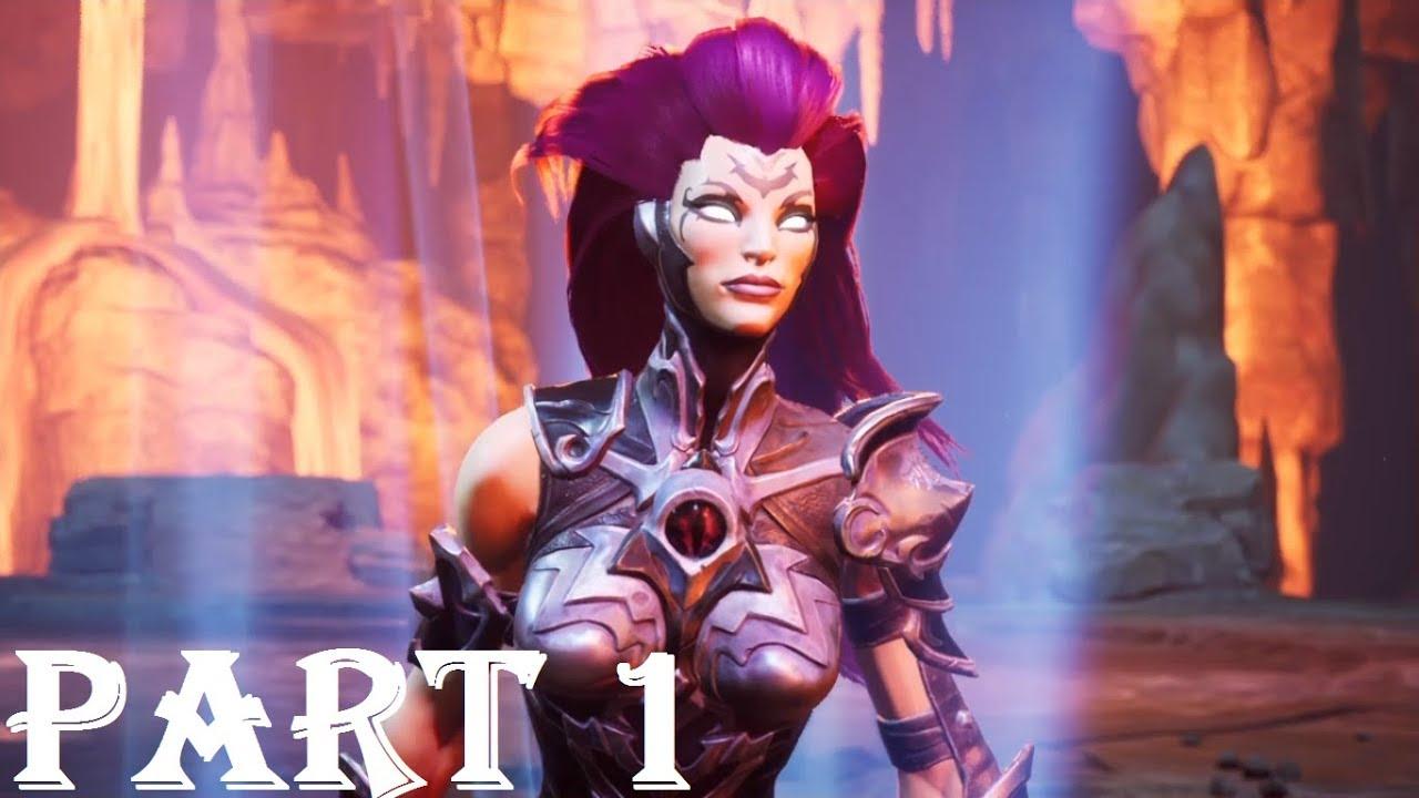 DARKSIDERS 3 Gameplay Walkthrough Part 1 - Envy Boss - YouTube