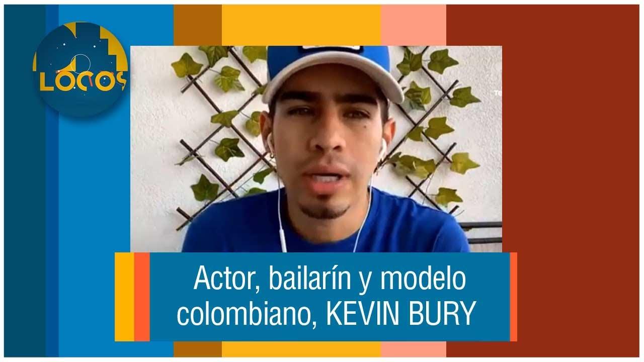 EL ACTOR KEVIN BURY EN DE LOCOS DE TELEMEDELLÍN